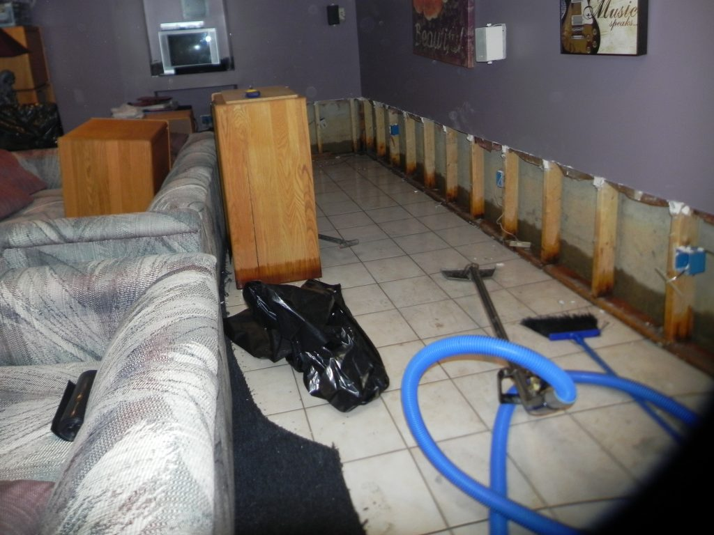 Image result for Basement Flooding Cleanup